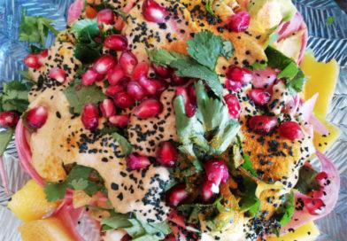 Tagliatelles crues de patate douce violette par Lucigaïah