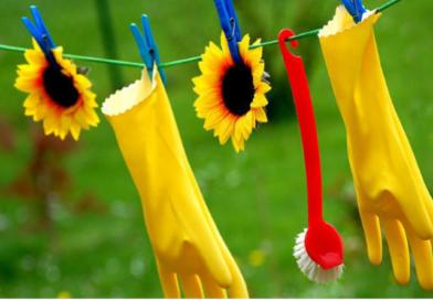 Les indispensables pour un ménage de printemps sans produits chimiques 1/4