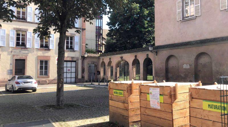 Un nouveau site de compostage de proximité bientôt inauguré à Strasbourg