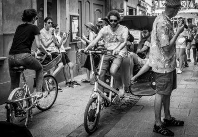 Vélissimo : un curieux vélo calèche fait découvrir Strasbourg différemment