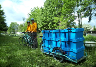 Sikle installera son premier centre de compostage professionnel en plein Strasbourg !